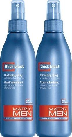 Matrix (M) Mens Thick Blast Thickening Spray 8.5 oz X2