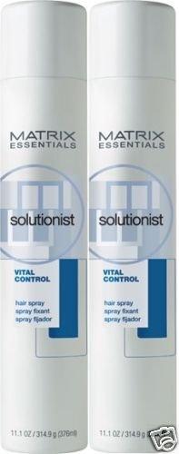 Matrix (S) Solutionist Vital Control Hair Spray 11oz X2