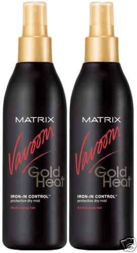 Matrix (V) Vavoom Gold Heat Iron-In Volume Dry Mist(x2)