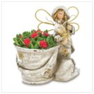 Country Angel Gardener Figurine