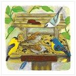 Backyard Birdfeeder Plaque