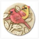 Cardinal Stepping Stone Plaque