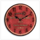 """Hotel Du Monde"" Clock"