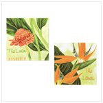 Tropical Foliage Canvas Prints