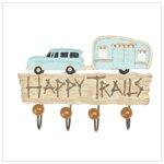'Happy Trails' Wall Hook