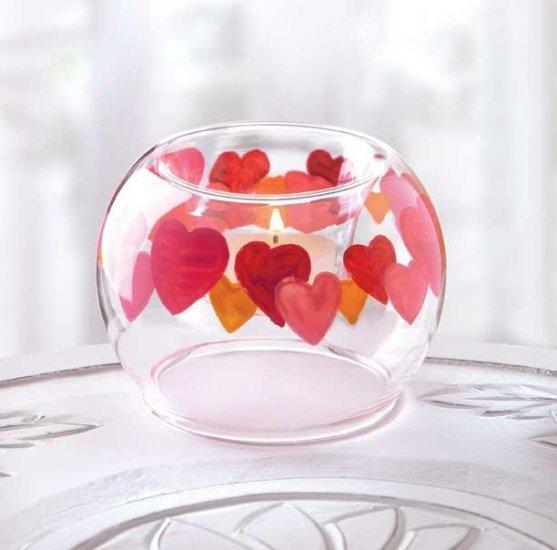Circular Hearts Candle Holder
