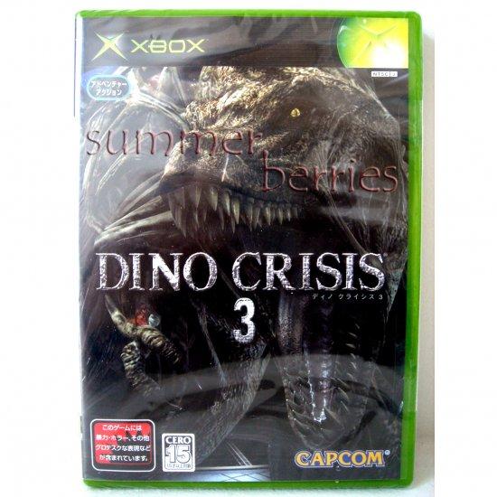 XBox Game - Dino Crisis 3 - Japan / Japanese Version (NTSC-J) - Brand New