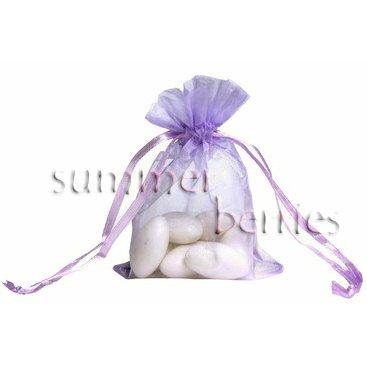 Organza Sachet Favor Bag / Bags - 4x6.5 Lilac (Set of 10)