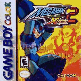 Nintendo Gameboy Color Game - MegaMan Xtreme 2