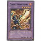 YuGiOh Card LOB-003 1st Edition - Flame Swordsman [Super Rare Holo]
