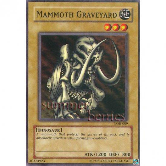 YuGiOh Card LOB-009 - Mammoth Graveyard [Common]
