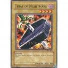 YuGiOh Card LOB-012 - Trial of Nightmare [Common]