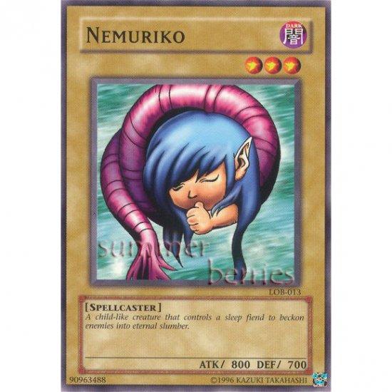 YuGiOh Card LOB-013 - Nemuriko [Common]