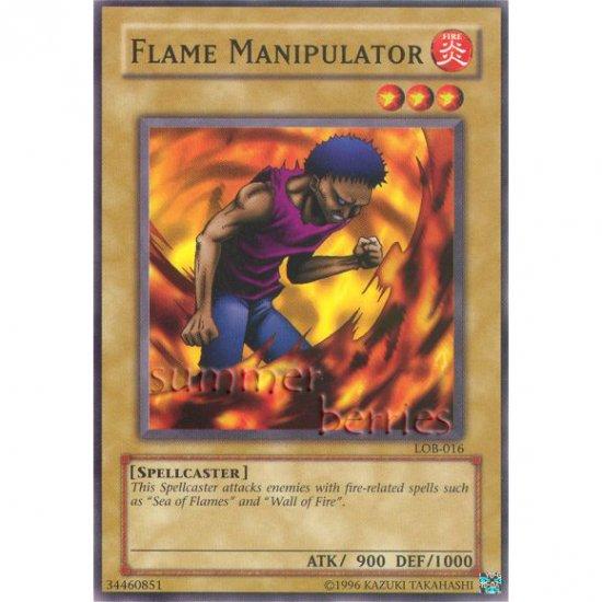 YuGiOh Card LOB-016 - Flame Manipulator [Common]
