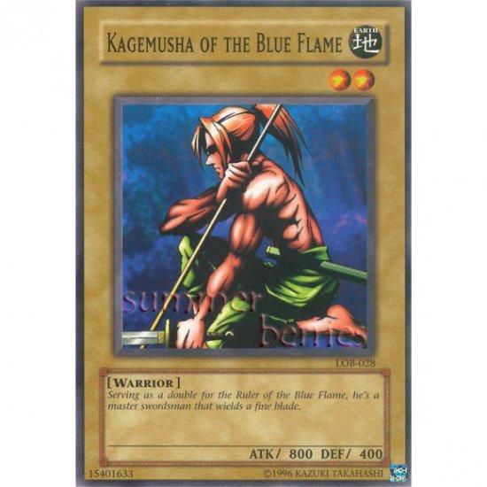 YuGiOh Card LOB-028 - Kagemusha of the Blue Flame [Common]