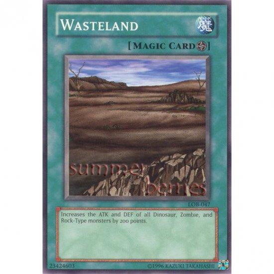 YuGiOh Card LOB-047 - Wasteland [Common]