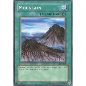 YuGiOh Card LOB-048 - Mountain [Common]