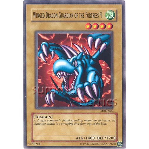 YuGiOh Card MRD-002 - Winged Dragon, Guardian of the Fortress #1 [Common]