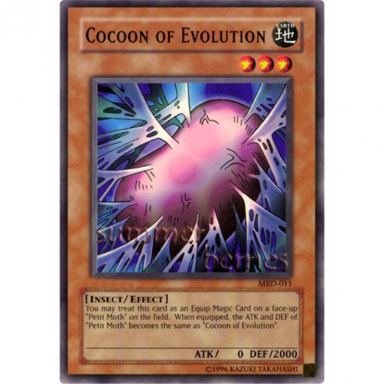 YuGiOh Card MRD-011 - Cocoon of Evolution [Short Print]