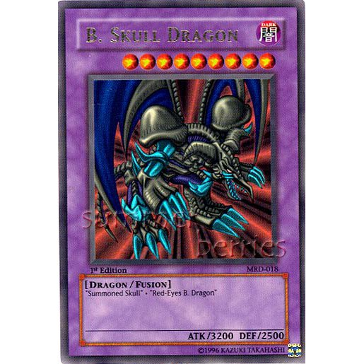 YuGiOh Card MRD-018 1st Edition - B. Skull Dragon [Ultra Rare Holo]