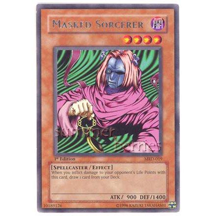 YuGiOh Card MRD-019 1st Edition - Masked Sorcerer [Rare]