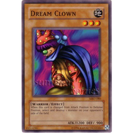 YuGiOh Card MRD-080 - Dream Clown [Short Print]