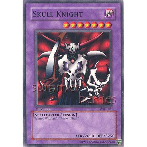 YuGiOh Card MRD-123 1st Edition - Skull Knight [Common]