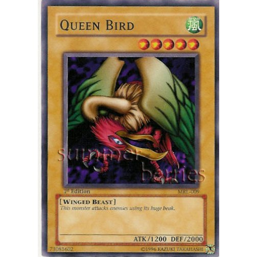 YuGiOh Card MRL-009 1st Edition - Queen Bird [Common]