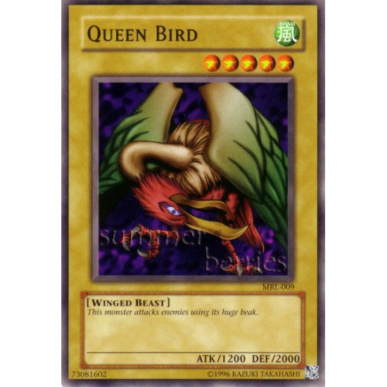 YuGiOh Card MRL-009 - Queen Bird [Common]