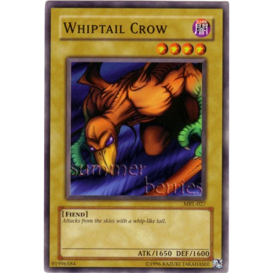 YuGiOh Card MRL-027 - Whiptail Crow [Common]