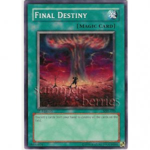 YuGiOh Card MRL-035 1st Edition - Final Destiny [Common]