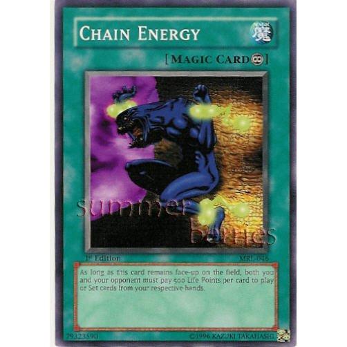 YuGiOh Card MRL-046 1st Edition - Chain Energy [Common]