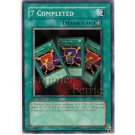 YuGiOh Card PSV-004 1st Edition - 7 Completed [Common]