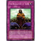 YuGiOh Card PSV-027 1st Edition - The Regulation of Tribe [Common]