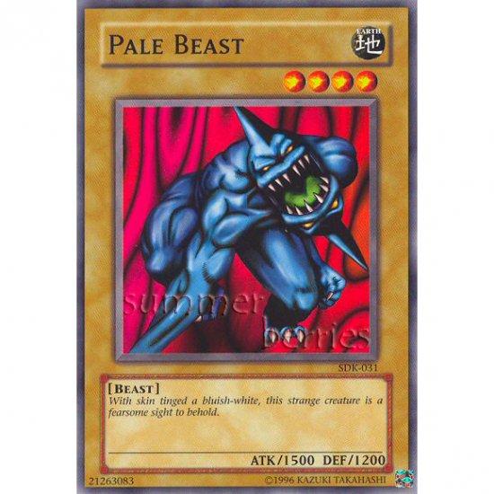 YuGiOh Card SDK-031 - Pale Beast [Common]