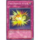 YuGiOh Card SDY-028 - Two-Pronged Attack [Promo Common]