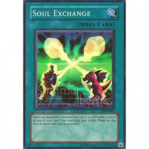 YuGiOh Card SDY-041 - Soul Exchange [Promo Super Rare Holo]