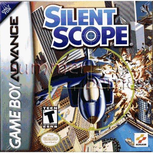 Nintendo Gameboy Advance Game - Silent Scope