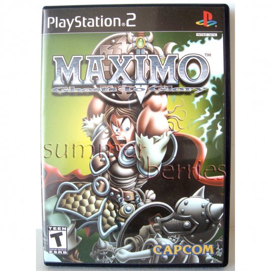 PS2 Game - Maximo Ghosts To Glory