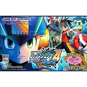 Nintendo Gameboy Advance Game - RockMan EXE 4 Tournament Blue Moon (Japan / Japanese Edition)