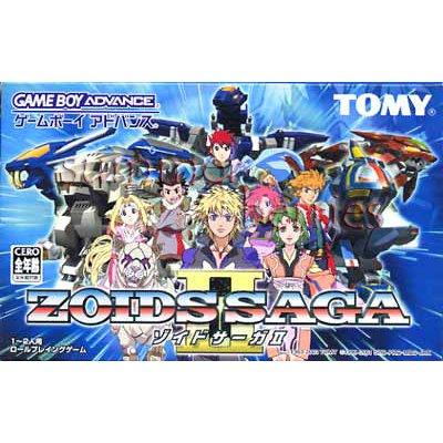 Nintendo Gameboy Advance Game - Zoids Saga II (Japan / Japanese Edition)