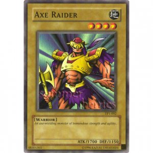 YuGiOh Card TP1-002 - Axe Raider [Promo Super Rare Holo]