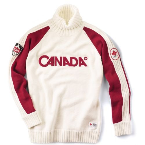 Vancouver 2010 Canadian Olympic Team Turtleneck Sweater - Men's Large