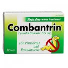 Combantrin Single Dose Intestinal Worm Treatment for Pinworms & Roundworms - 12 tablets