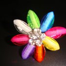 Flower-Multi-Colored ring