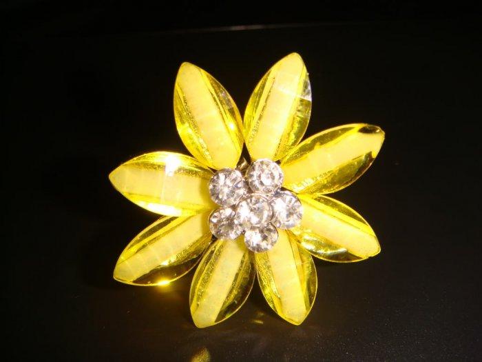 Flower-Yellow Ring