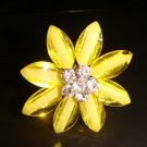 Flower-Yellow Ring
