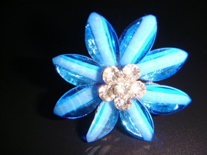 Flower Blue Tone