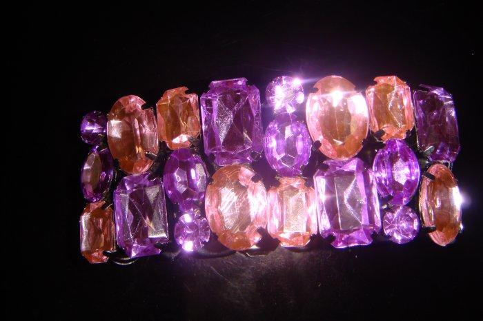Purple Gem Bracelet