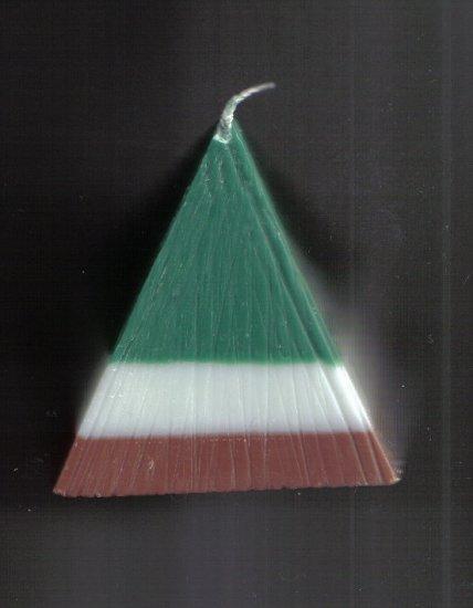 Taurus - Pyramid Candle